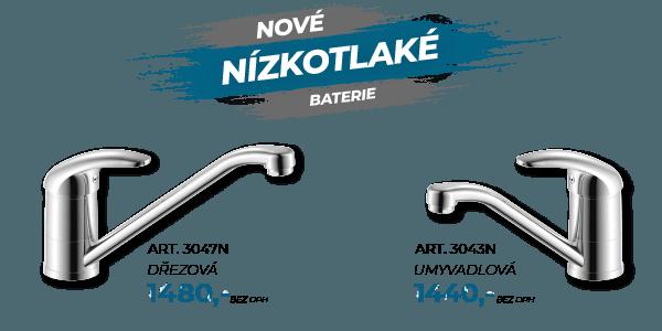 nízkotlaké vodobvodní baterie